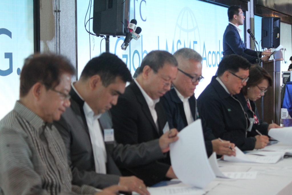 MOA signing