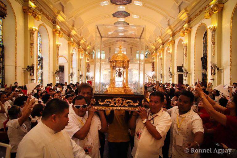 Saint Camillus' heart visits Malolos